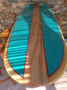 Surfboard bar