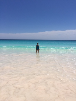 C on Beach
